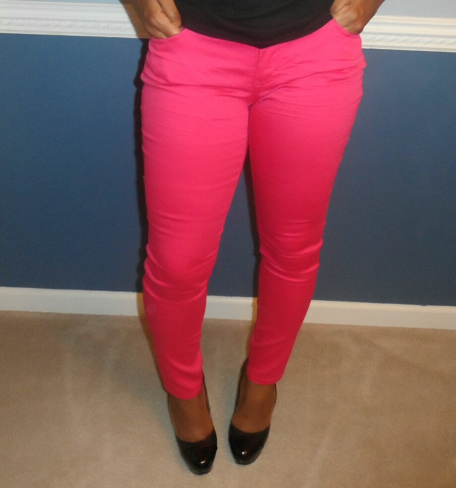 To acquire Pink Neon skinny jeans pictures trends