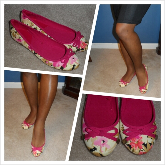 floral flats collage